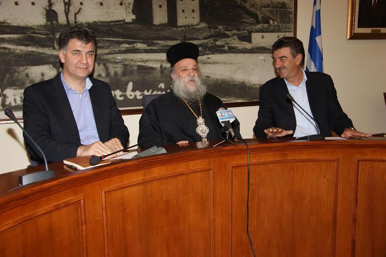 video: Κοινή συνέντευξη τύπου παραχώρησαν  ο Δήμαρχος Γρεβενών κ. Γεώργιος Δασταμάνης, ο Σεβασμιότατος Μητροπολίτης κ.κ. Δαβίδ και ο Αντιπεριφερειάρχης Γρεβενών κ. Ευάγγελος Σημανδράκος