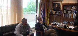 Ο Γραμματέας του ΣΥΡΙΖΑ κ. Πάνος Ρήγας στον αντ/ρχη Γρεβενών κ. Β. Σημανδράκο(βίντεο)