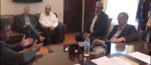 Ο Γραμματέας του ΣΥΡΙΖΑ κ. Παναγιώτης Ρήγας στον Δήμαρχο Γρεβενών κ.Γ.Δασταμάνη (βίντεο)