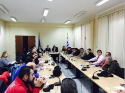 Ο συντονισμός όλων των  δυνάμεων της Περιφέρειας Δυτικής Μακεδονίας στις έκτακτες ανάγκες συζητήθηκε σε ευρεία σύσκεψη