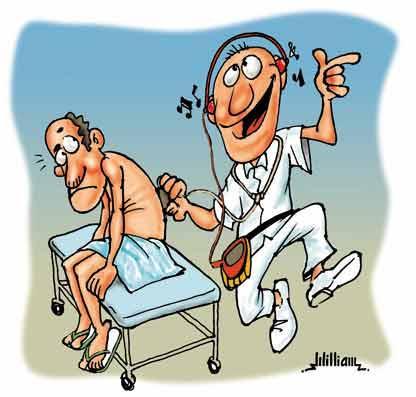 Στο γιατρό γρήγορα….