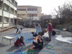 Κατασκευή με πλαστικά καπάκια για ρεκόρ…Γκίνες από το 3ο ΓΕΛ Κοζάνης! (Φώτο)