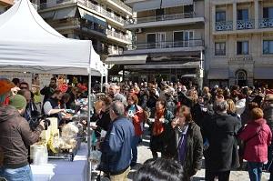 Συμμετοχή της Αναπτυξιακής Γρεβενών (ΑνΓρε ΑΕ) στο Μανιταρογλέντι 2015 στην κεντρική πλατεία των Γρεβενών
