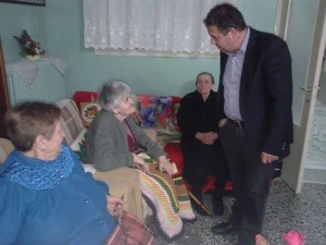 Τα Γηροκομεία Κοζάνης, Γρεβενών, Καστοριάς και Φλώρινας επισκέφτηκε ο Αντιπεριφερειάρχης Υγείας Γιαννακίδης Σταύρος