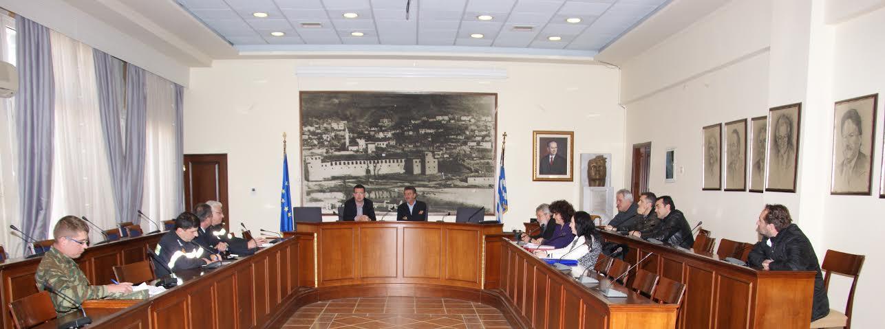 Σύσκεψη στο Δήμο Γρεβενών για λήψη μέτρων  νέας αντιπυρικής περιόδου 2015