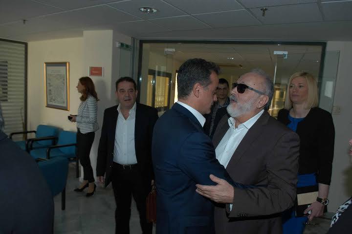 Συνάντηση του Περιφερειάρχη Δυτικής Μακεδονίας με τον Υπουργό Υγείας