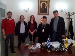 Στο επίκεντρο η συντήρηση και η αναστήλωση των θρησκευτικών μνημείων. Επίσκεψη του Αντιπεριφερειάρχη Γρεβενών στο Μητροπολίτη