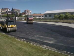 Εργασίες για την κατασκευή Ταρτάν στο ΔΑΚ Γρεβενών (φωτογραφίες)