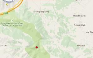 Νέα σεισμική δόνηση 3.8 ρίχτερ Νοτιοδυτικά της Κοζάνης