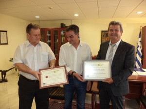 Η απονομή βραβείων στο συνεταιρισμό ελαιοπαραγωγών Ιμέρων  σε ειδική εκδήλωση στην Περιφέρεια Δυτικής Μακεδονίας (φωτογραφίες)