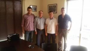 Το Σάββατο 13/06/2015 το προεδρείο της Ένωσης Αστυνομικών Υπαλλήλων Γρεβενών πραγματοποίησε συνάντηση με τον βουλευτή Γρεβενών κ. Κοψαχείλη Τιμολέων