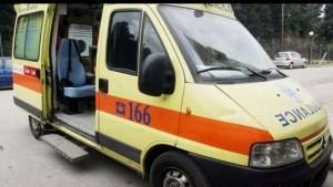 """Tροχαίο ατύχημα στην Εγνατία Οδό στο ύψος του Δρεπάνου – Ι.Χ.Ε. """"έπεσε"""" πάνω σε φορτηγάκι και το αναποδογύρισε – 2 τραυματίες από τη συγκρόυση"""