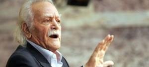 """Ο ΄΄Δίας΄΄ της Ελλάδας !!! – Συγκλόνισε και αποθεώθηκε ο Μανώλης Γλέζος: """"Δεν σας χαρίζουμε την Ευρώπη, είναι γέννημα της Ελλάδος""""! (video)"""