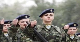Θητεία έξι μηνών για τις γυναίκες στο στρατό. Εθελοντική η κατάταξη. Θα τους δίνονται μόρια.