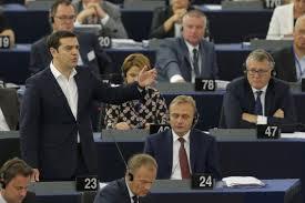 Τσίπρας στο ευρωκοινοβούλιο: Αναλαμβάνω την ευθύνη για τους 5 μήνες