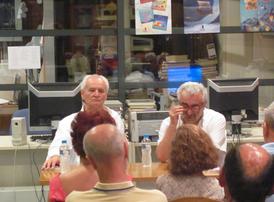 «Ο υπερρεαλιστής συμπατριώτης μας συγγραφέας Ζήσης Κόκκινος, από το μακρινό Βορρά ξαναβρέθηκε για έβδομή φορά στη Δημόσια Κεντρική Βιβλιοθήκη Γρεβενών!..»