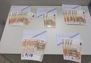 Κοζάνη: Εξαρθρώθηκε εγκληματική οργάνωση που έθετε σε κυκλοφορία παραχαραγμένα χαρτονομίσματα-Κατασχέθηκαν 75 χαρτονομίσματα των 50- ευρώ, συνολικής ονομαστικής αξίας 3.750 ευρώ