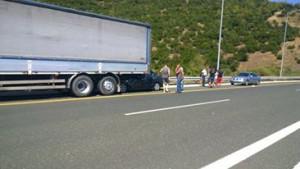 Θανατηφόρο τροχαίο στα τούνελ της Εγνατίας  στο δρόμο από Βέροια προς Κοζάνη