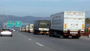 Απαγόρευση κυκλοφορίας φορτηγών τον 15αύγουστο
