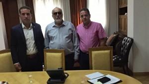 Συνάντηση Αντιπεριφερειάρχη Υγείας Σταύρου Γιαννακίδη με τον Υπουργό Υγείας Παναγιώτη Κουρουμπλή