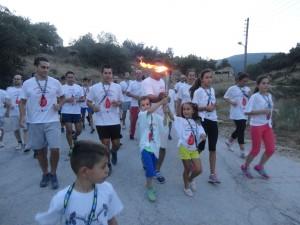 Στο Δήμο Δεσκάτης η 13η Πανελλήνια Λαμπαδηδρομία 2015