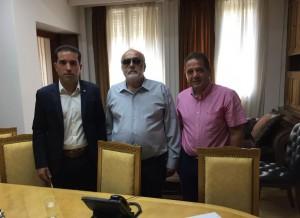 Συνάντηση του Βουλευτή Κοζάνης Χάρη Κάτανα με τον Υπουργό Υγείας Παναγιώτη Κουρουμπλή