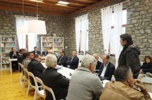 Συνάντηση του προέδρου του Κυνηγετικού Συλλόγου Γρεβενών με τον Υπουργό Περιβάλλοντος κ. Τσιρώνη Γιάννη