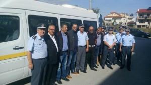 Δωρεά ενός λεωφορείου από τον Δήμο Φλώρινας για τις ανάγκες των Υπηρεσιών της  Διεύθυνσης Αστυνομίας Φλώρινας