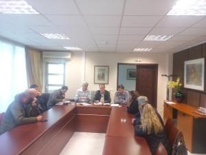 Σε κοινή σύσκεψη βρέθηκαν οι παραγωγοί της  λεβάντας των Γρεβενών στην Περιφέρεια, παρουσία του Αντιπεριφερειάρχη Γρεβενών Ευάγγελου Σημανδράκου