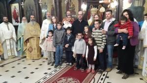 Τελέστηκε  στον Ιερό Μητροπολιτικό Ναό της Ευαγγελιστρίας, ιερουργούντος του Σεβασμιωτάτου Μητροπολίτου Γρεβενών κ. Δαβίδ, Θεία Λειτουργία για την ετήσιο εορτασμό της Πολύτεκνης Οικογένειας (φωτογραφίες)