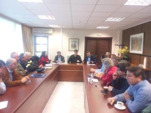 Ευρεία σύσκεψη του Συντονιστικού Οργάνου Πολιτικής Προστασίας της Π.Ε. Γρεβενών