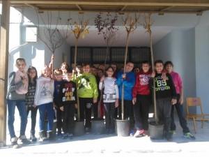 Οι μαθητές της  Ε΄ τάξης του 2ου Δημοτικού Σχολείου Γρεβενών  φύτεψαν στην αυλή του σχολείου  στα πλαίσια του προγράμματος Περιβαλλοντικής Εκπαίδευσης (video)