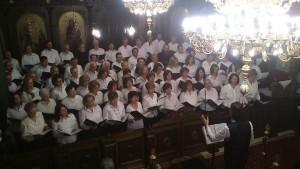 Την πρώτη της συναυλία πραγματοποίησε η νεοσύστατη Βυζαντινή Χορωδία της Ιεράς Μητροπόλεως Γρεβενών
