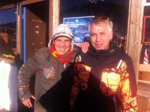 Ο διάσημος Γάλλος τραγουδιστής Μάνου Τσάο στην Βασιλίτσα για σκι !!!