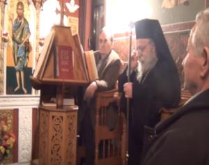 Στον Άγιο Αθανάσιο Καλαμιτσίου ο Μητροπολίτης Γρεβενών κ.κ. Δαβίδ (βίντεο)