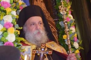 Θεία λειτουργία στον Ιερό Ναό Αγίου Γεωργίου στην Κιβωτό Γρεβενών από τον Μητροπολίτη Γρεβενών κ. Δαβίδ