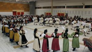 Χορός του συλλόγου Γρεβενιωτών Θεσσαλονίκης