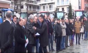 Καθολική η απεργία στα Γρεβενά – Κλειστά όλα τα καταστήματα (video)