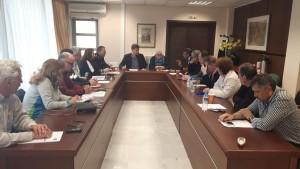 Έκτακτη σύσκεψη του συντονιστικού οργάνου πραγματοποιήθηκε στην αίθουσα του Διοικητηρίου της Π.Ε.  Γρεβενών