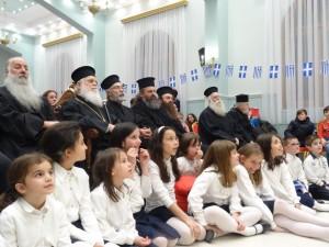 Εορτή της 25ης Μαρτίου από τις κατηχητικές ομάδες της Ιεράς Μητροπόλεως Γρεβενών (φωτογραφίες)