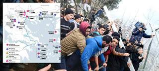 27.000 πρόσφυγες εγκλωβισμένοι στην Ελλάδα – Πού βρίσκονται (Χάρτης)