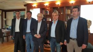 Στην Αθήνα βρέθηκε  ο Δήμαρχος Γρεβενών κ. Γιώργος Δασταμάνης όπου είχε διαδοχικές συναντήσεις σε υπουργεία και φορείς που χειρίζονται βασικά ζητήματα του Δήμου