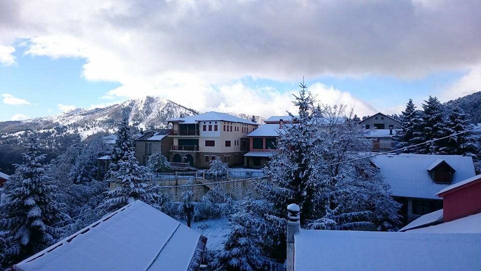 Το χιόνι ήρθε και έμεινε… στα ορεινά χωριά των Γρεβενών, Σαμαρίνα, Αβδέλλα, Περιβόλι και Κρανιά
