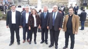 Στην Κλεισούρα Καστοριάς παρευρέθη την Κυριακή 10 Απριλίου ο Βουλευτής Γρεβενών  Χρήστος Μπγιάλας για τις εκδηλώσεις μνήμης του ολοκαυτώματος από τους ναζί