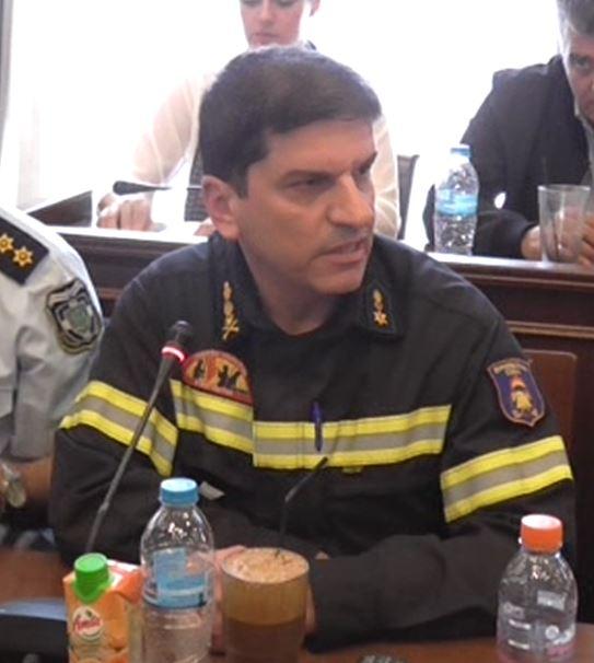 Δημοτικό Συμβούλιο (Προσφυγικό) – Η ομιλία του Διοικητή Πυροσβεστικής Γρεβενών