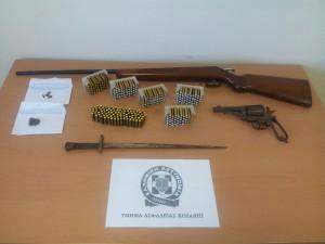Κοζάνη: Σύλληψη δύο ημεδαπών  για παραβάσεις των νόμων περί ναρκωτικών και περί όπλων