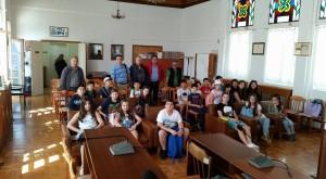 Επίσκεψη μαθητών Ιωαννιδειου σχολείου Θεσσαλονίκης στη Σιάτιστα