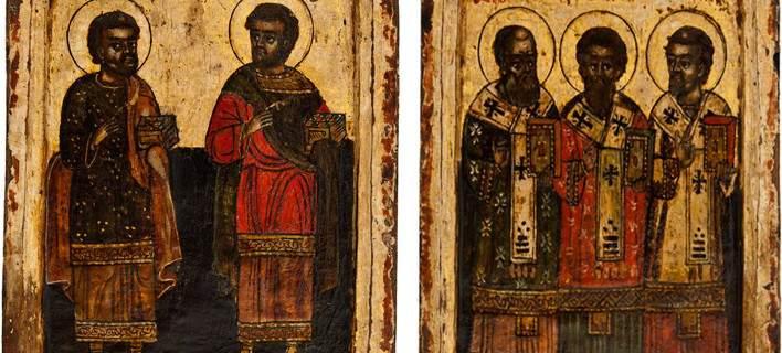 Επαναπατρισμός εικόνων που είχαν κλαπεί από Ελληνικές Εκκλησίες. Ίσως βρεθούν και οι εικόνες της Μ. Παναγίας Σαμαρίνας. Είχαν βγει σε δημοπρασία στη Γερμανία.