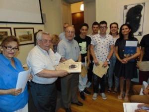 Το 2ο Γυμνάσιο Γρεβενών βραβεύτηκε σε τιμητική Τελετή στο Μουσείο Μακεδονικού Αγώνα