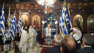 Πανηγυρική Θεία Λειτουργία και δοξολογία στον Ιερό Μητροπολιτικό Ναό Ευαγγελιστρίας Γρεβενών